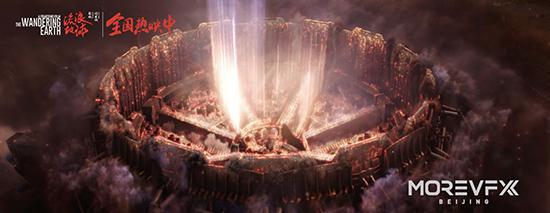 《流浪地球》发布视效特辑 还原特效画面