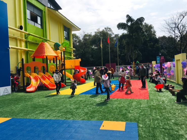 桂林依萨贝儿自然探索幼儿园联达园盛大开园