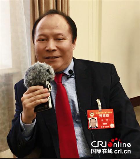 全国政协海外列席代表杨明:中欧班列给德国华商带来机遇图片