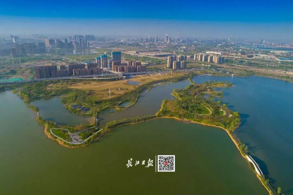 设计者们依照地形 将小岛设计成桃花溪,桃花坞,桃花林 长江日报记者胡