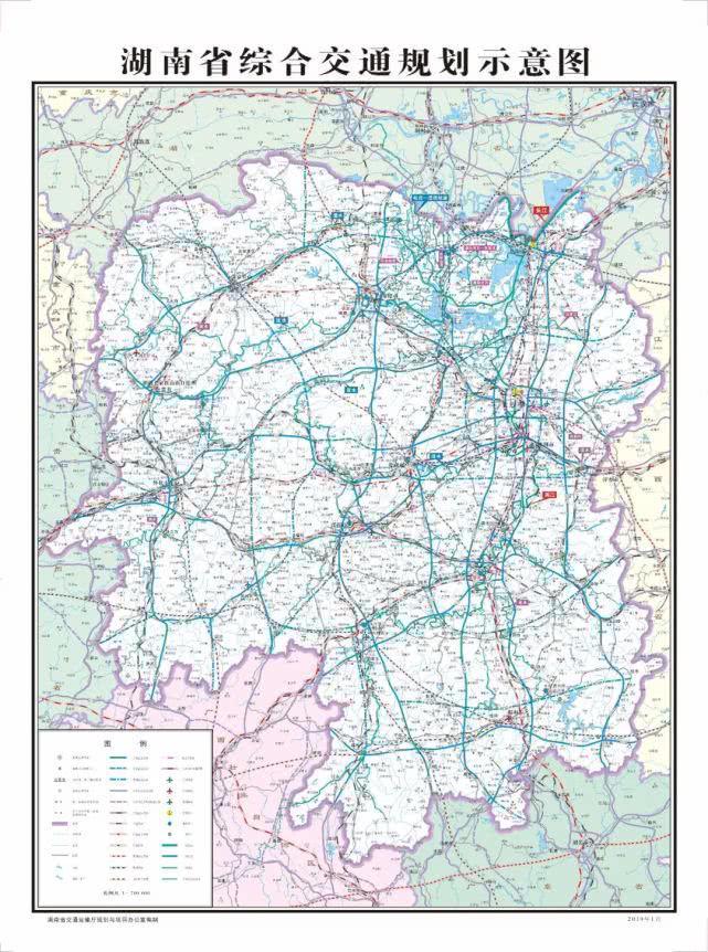最新!省交通厅发布交通规划图 张家界三条铁路长啥样?
