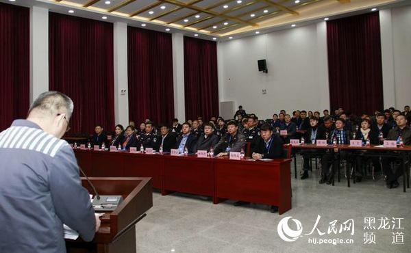 哈尔滨女子监狱_黑龙江省政协副主席赵雨森一行到哈尔滨监狱和省女子监狱视察调研