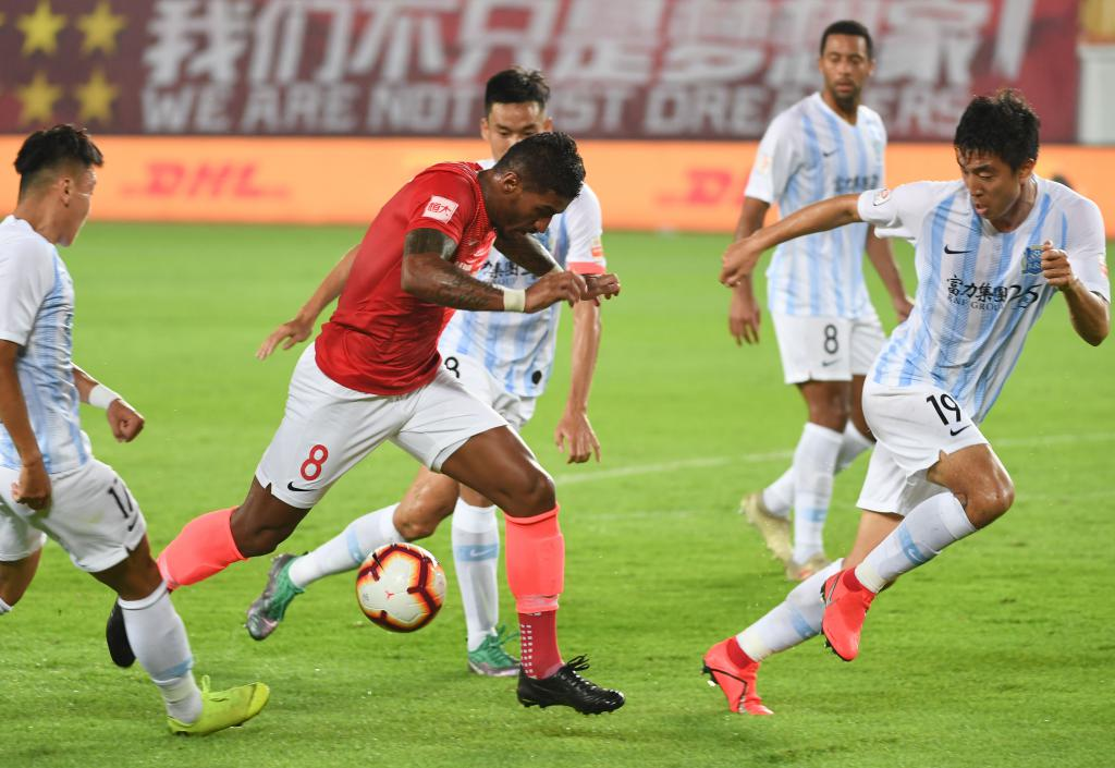 足球| 中超:廣州恒大勝廣州富力圖片