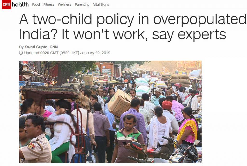 人口8 年后超中国:印度搞了 60 多年计划生育,为什么