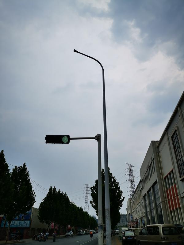 路灯电施工�_郑州南三环附近 6 条路路灯不亮?回应来了
