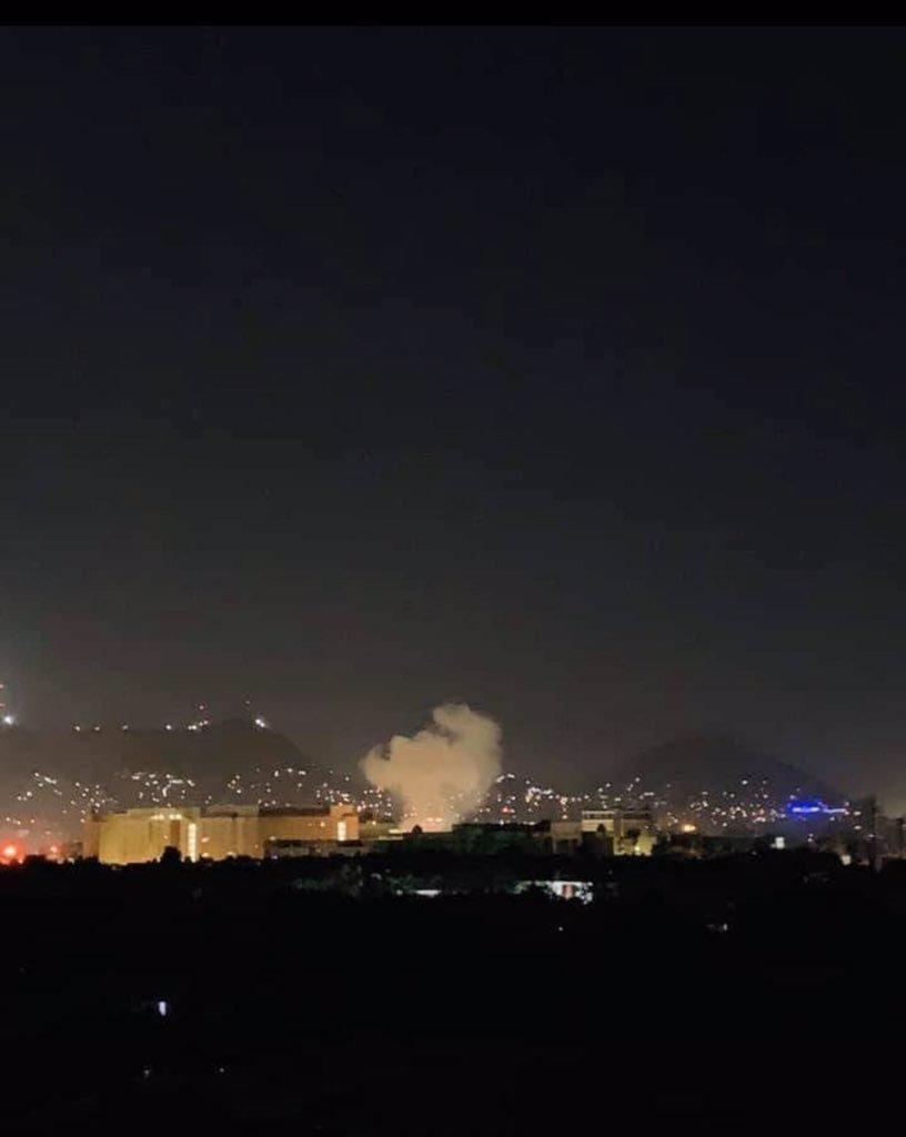 《911 纪念日 美国驻阿富汗大使馆遭火箭弹袭击》