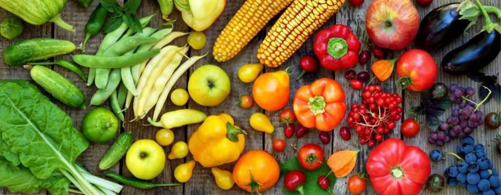 原来好身材的人,每天都会吃这堆五颜六色的东西……