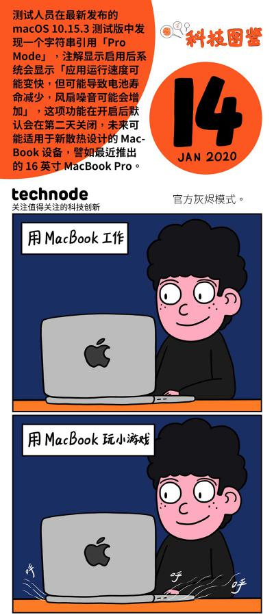 MacBook 的灰烬模式