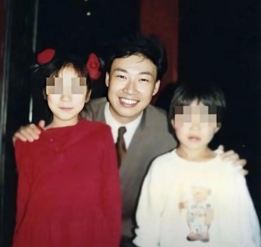 90 年代初,费玉清与安井千惠的孩子合影