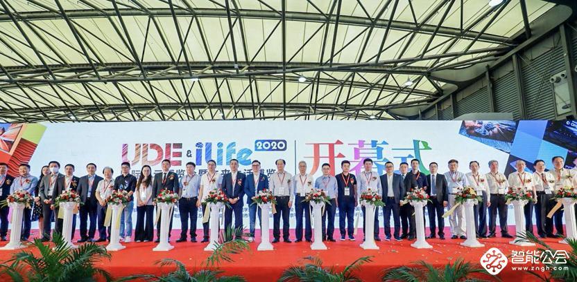 UDE2020 国际显示博览会盛大开幕!1 秒钟带你走进现场