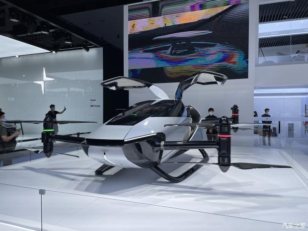 2021 成都车展:小鹏旅航者 X2 正式亮相