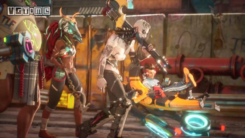 Ninja Theory 新作《嗜血边缘》正式公布 4V4 动作对战