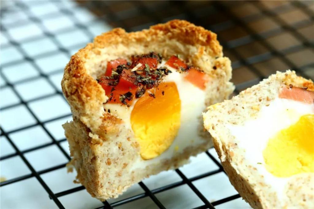 营养高、饱腹感超强的吐司玛芬蛋