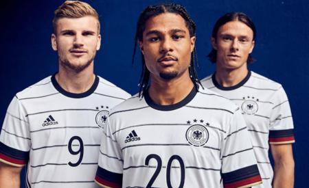官方:德国队发布 2020 年欧洲杯主场球衣