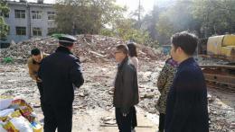 """渣土裸露、无安全警示标志 芙蓉区一施工现场被下达""""停工令"""""""
