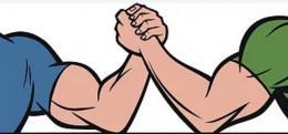 想起来都疼,湖南一大学生跟同学掰手腕掰到肱骨骨折
