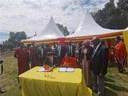 長沙教育代表團在烏干達訪問交流,烏干達總理都來了