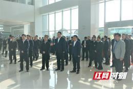 长沙举行重大产业项目建设流动观摩会,胡衡华胡忠雄带队调研15个项目