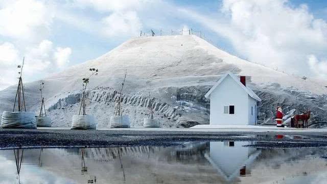 世上最大盐山,堆积 3 亿吨还在增长,游客到此必须带走一包