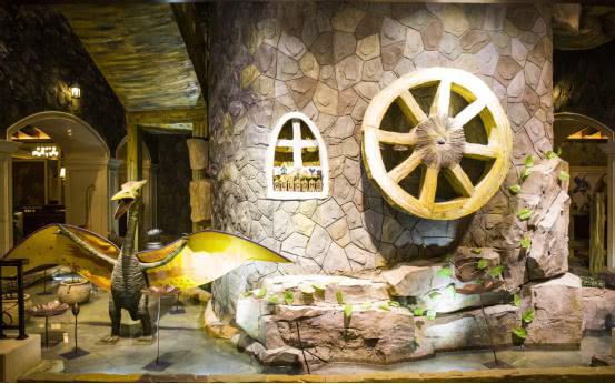 常州特色恐龙主题酒店,出门就是迪诺水镇,一晚 600 游客都说值