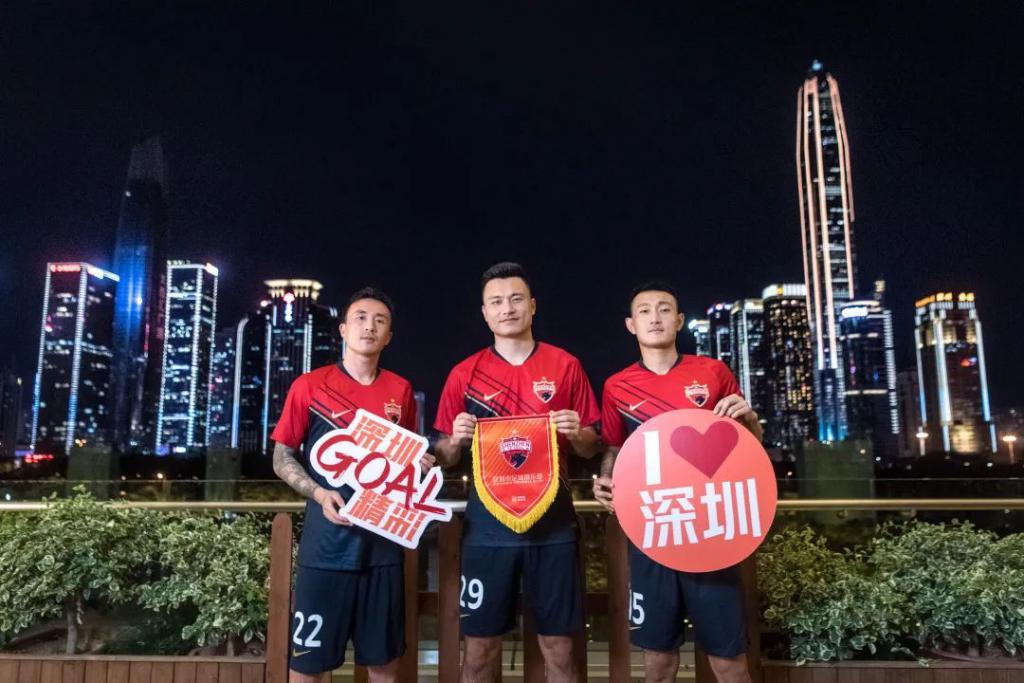 郜林和他的队友,在深圳拍了一部城市大片!
