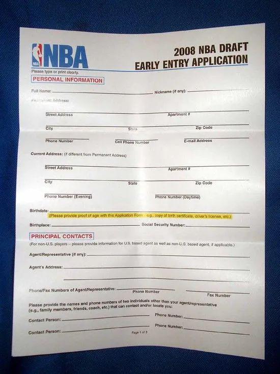 汤杰和郭昊文,凭什么能参加NBA选秀?