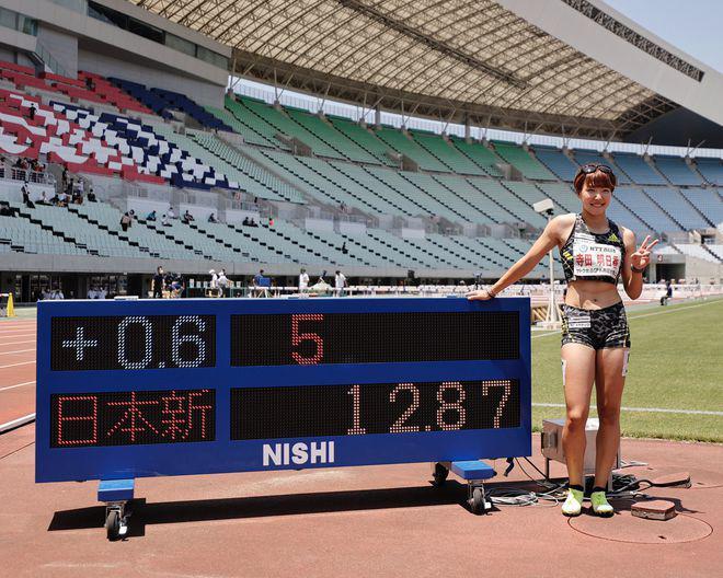 """12秒97!日本""""妈妈飞人""""再次打破国家纪录"""